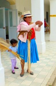 Hatmaker in Sigsig, Ecuador