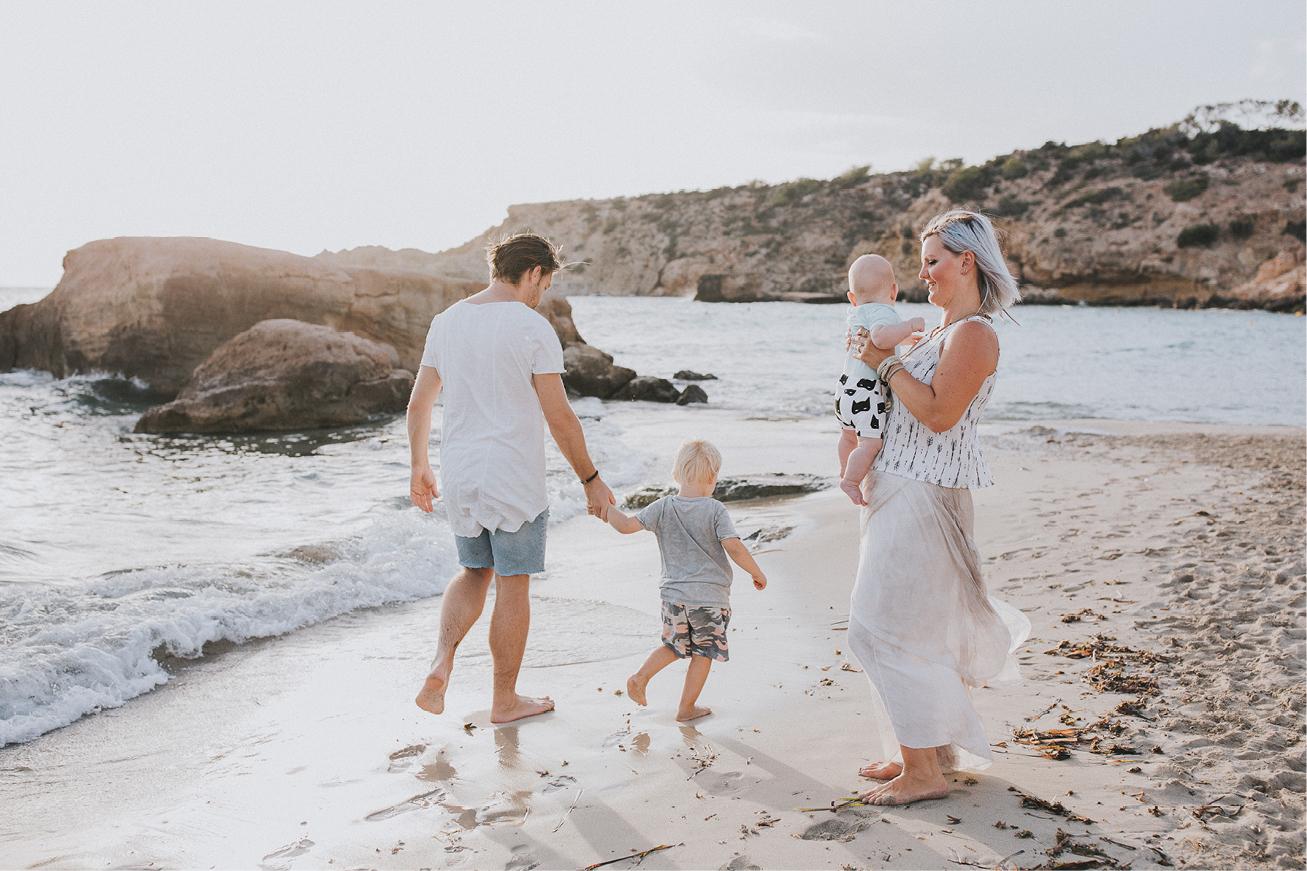 Family Shooting am Beach  nicole hankammer photography
