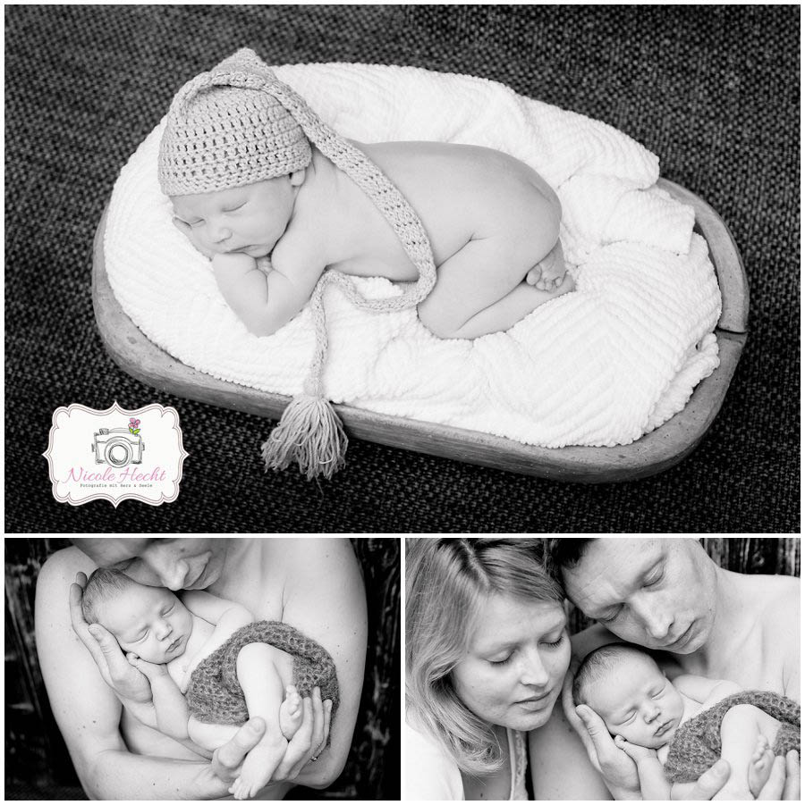 Samuel  Neugeborenenfotografie Nicole Hecht  Fotografie