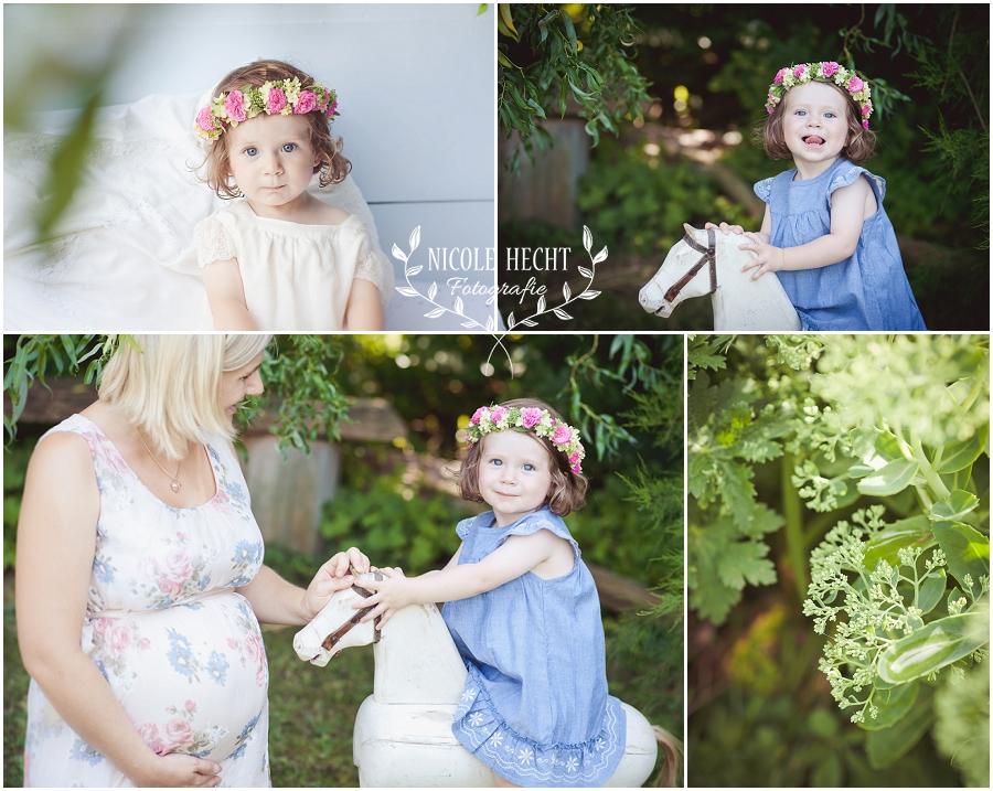 Blumenmdchen  natrliche Kinderfotos in der Natur  Gartenshooting  Blog  Fotografie Nicole