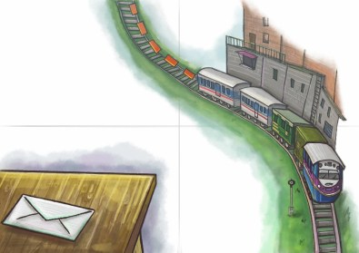 A Letter and a Train Ride