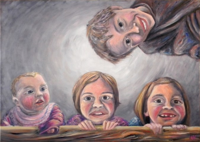Portrait of Martin's Kids