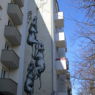 a mural in the city