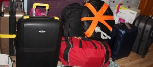 Travel Log Uganda, Day 0: So… many… Bags!