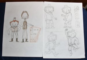Story Sketches: Dummy Book!