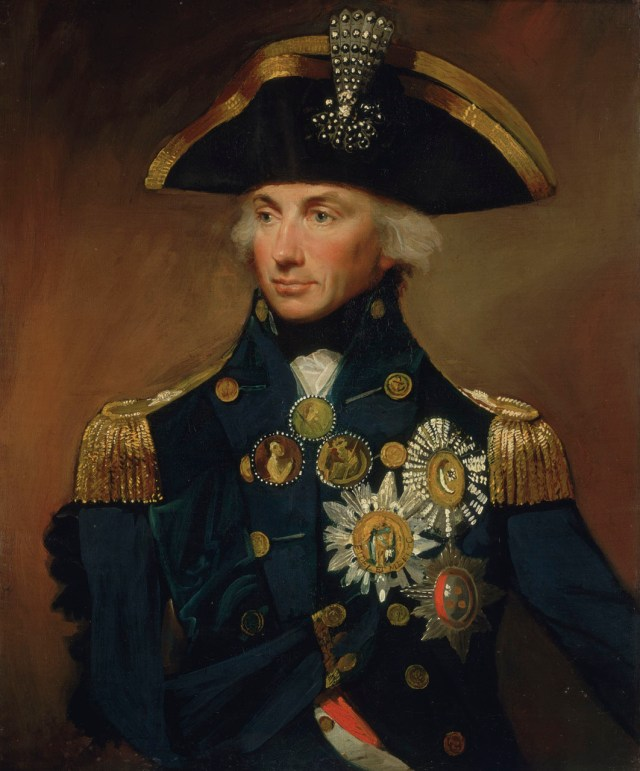 Lemuel Francis Abbott, Rear-Admiral Sir Horatio Nelson, 1758-1805 , Oil on Canvas, 1799, National Maritime Museum Collections.