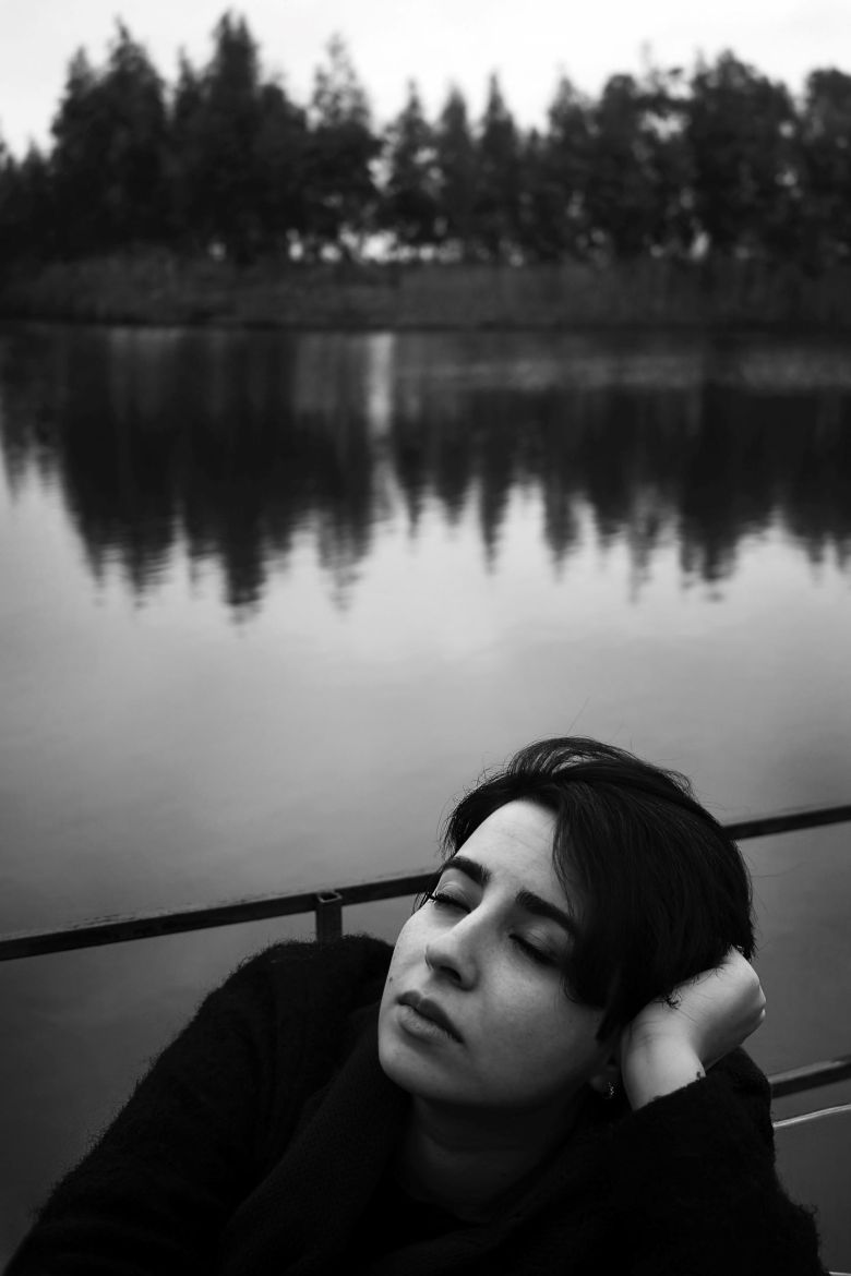 woman at the river bad marie by marcy dermansky