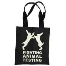 Fighting Animal Testing Bag Web