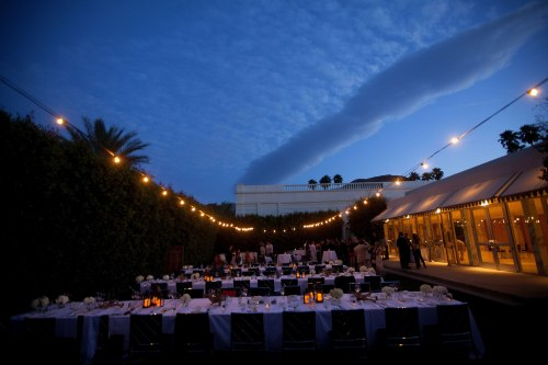 palm springs wedding photographer parker reception tables
