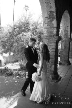 Franciscan Garden Weddings san Juan Capistrano photo by Nicole Caldwell Studio 01040