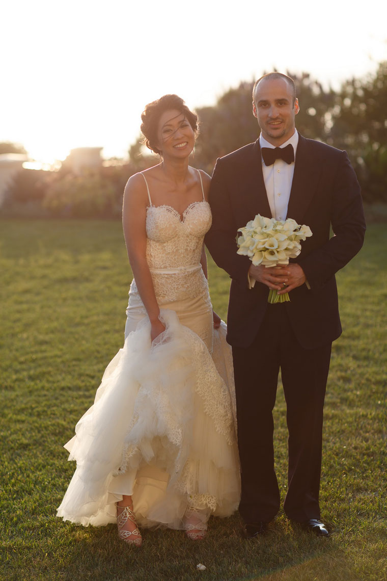 wedding ritz carlton laguna niguel ceremony sunset