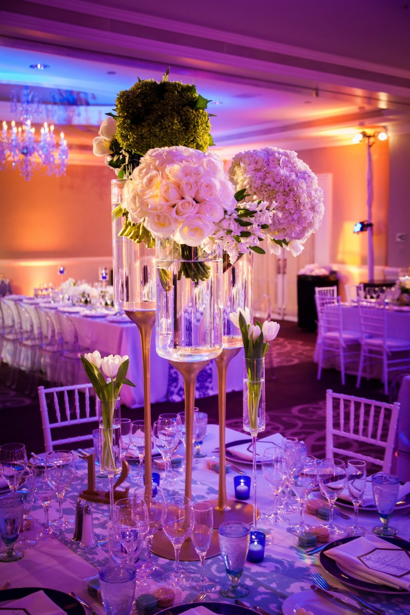 wedding centerpiece ritz carlton laguna niguel