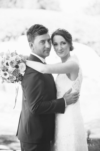 temecula creek inn wedding stone house bride and groom romantic
