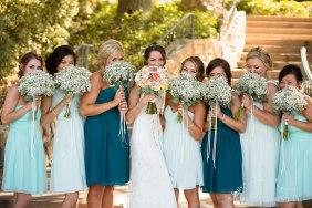 bridesmaids temecula creek inn wedding stone house bride