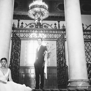The MacArthur weddings formerly legendary-park-plaza-hotel- photographer bride and groom