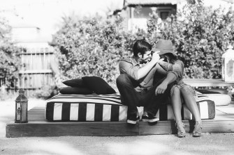 Korakia Pensione in Palm Springs engagement photos by nicole caldwell08