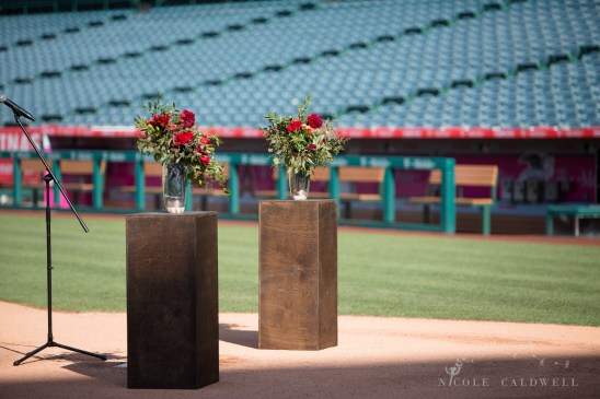 angels stadium of anaheim wedding venue 33