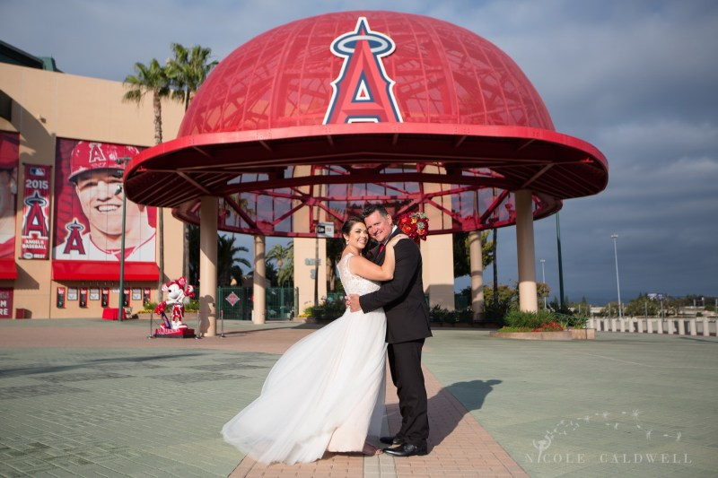 angels stadium of anaheim wedding venue 63