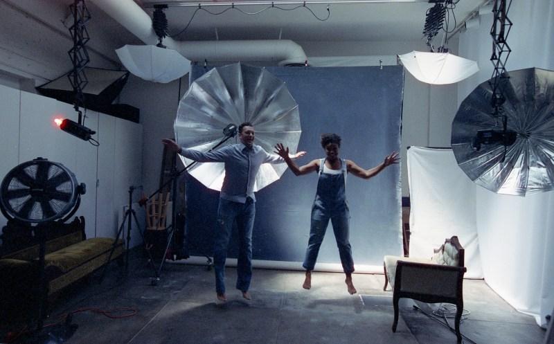 cinestill film engage,ent session in studio nicole caldwell 01