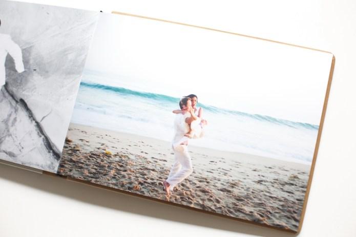 surf and sand elopement wedding album nicole caldwell 14 laguna beach