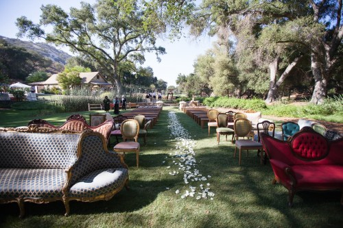 temecula creek inn wedding ceremony chairs