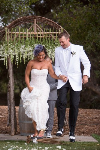 temecula creek inn weddings stonehouse ceremony interracial couple