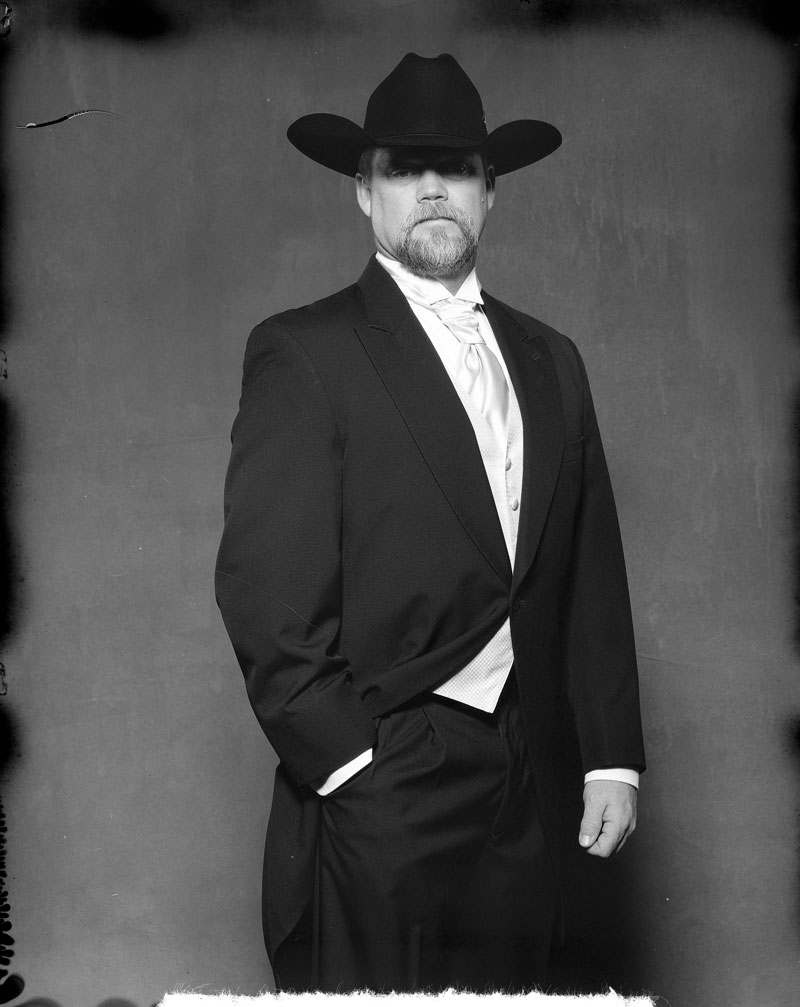 cowboy formal portrait new 55 film