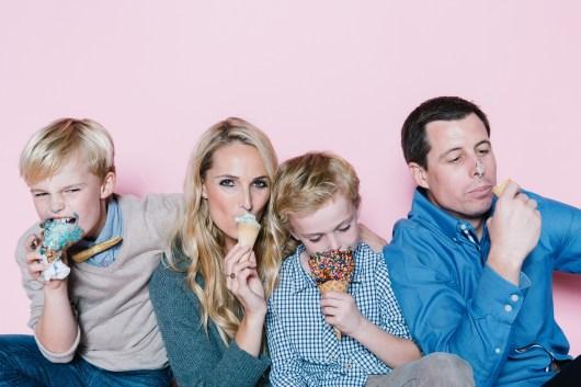 fun different family photos ice cream studio photographs nicole caldwell 16