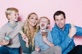 fun different family photos ice cream studio photographs nicole caldwell 17