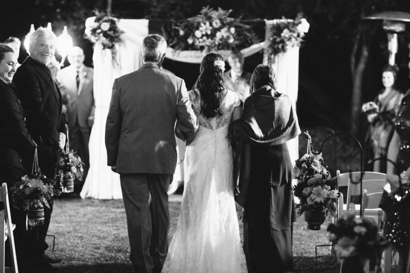 temecula creek inn weddings nightime ceremony jewish 43
