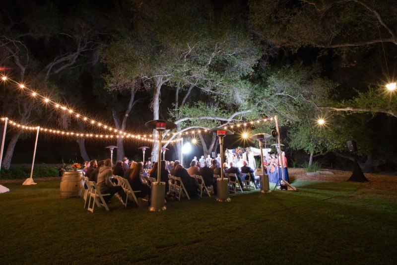temecula creek inn weddings nightime ceremony jewish 48