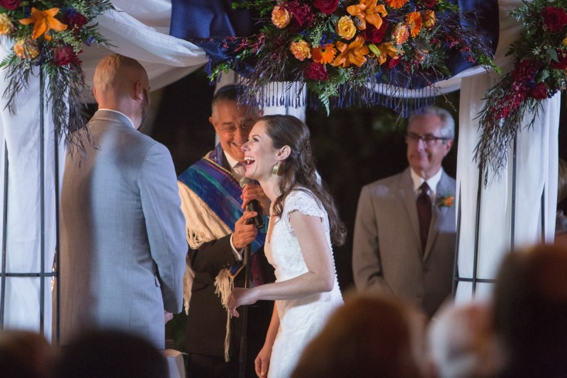 temecula creek inn weddings nightime ceremony jewish 49