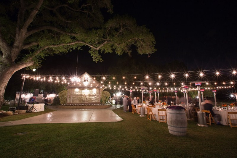 temecula creek inn weddings nightime ceremony jewish 52