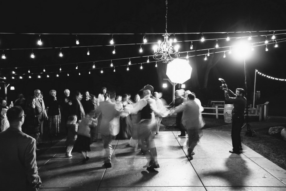 temecula creek inn weddings nightime ceremony jewish 56