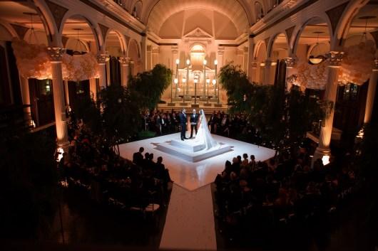 vibiana wedding ceremony los angeles