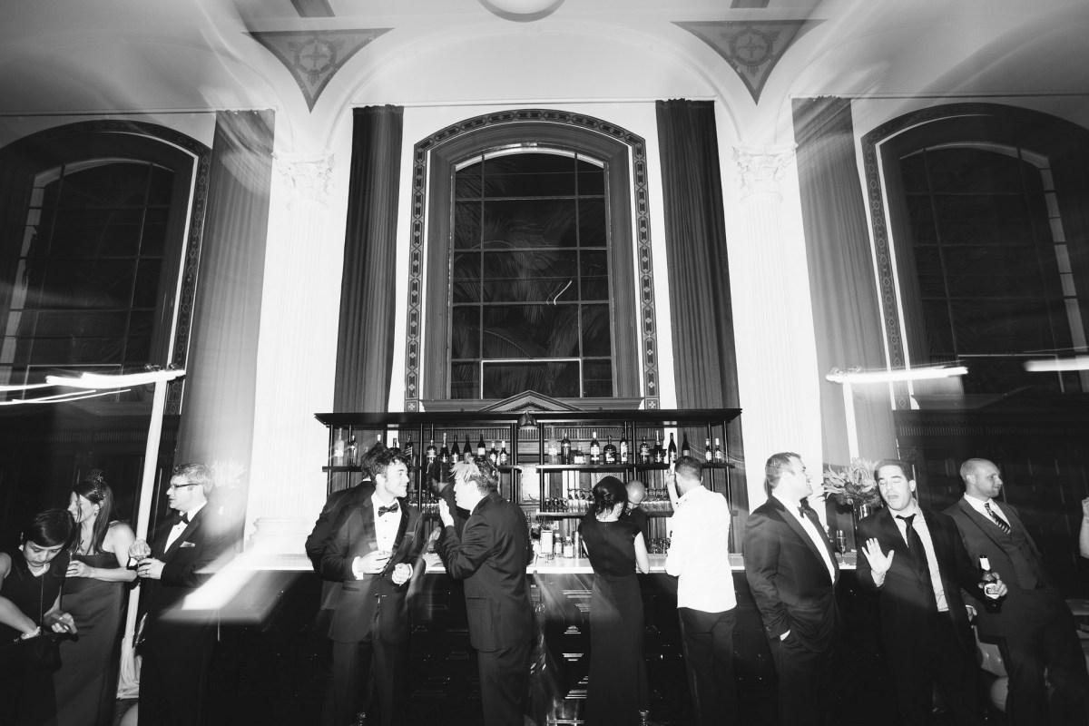 vibiana wedding los angeles bar