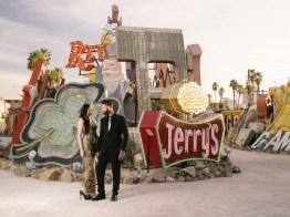 las vegas engagement shoot neon museum boneyard by nicole caldwell 03