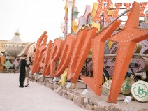 las vegas engagement shoot neon museum boneyard by nicole caldwell 07