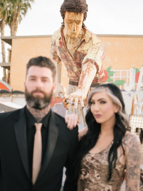 las vegas engagement shoot neon museum boneyard by nicole caldwell 09
