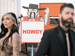 las vegas engagement shoot neon museum boneyard by nicole caldwell 10