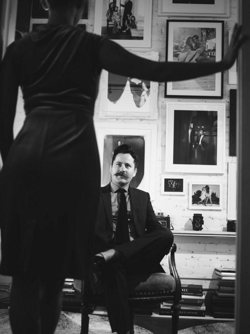 film noir engagement session photo by nicole caldwell studio 10