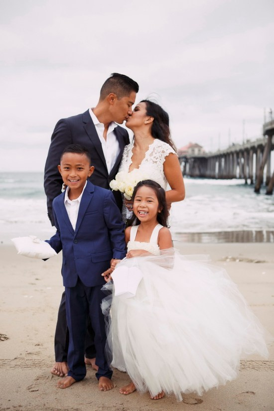 10 Year Vow Renewal Anniversary Huntington Beach