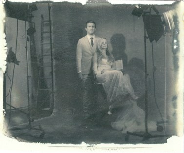 new 55 film positive sheet bride and goom