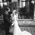 wedding first look carondelet house