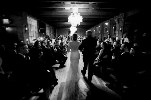 wedding ceremony carondelet house nigh time