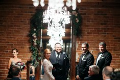 carondelet wedding night time ceremony
