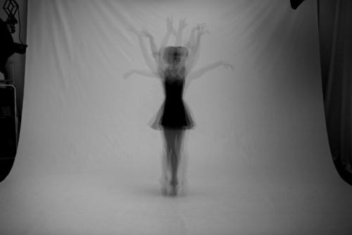 ballerina multiple exposure