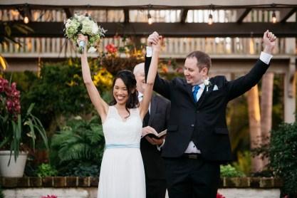 sherman gardens wedding corona del mar ceremony