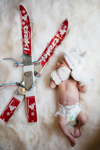 orange county newborn photographer in home film nicole caldwell