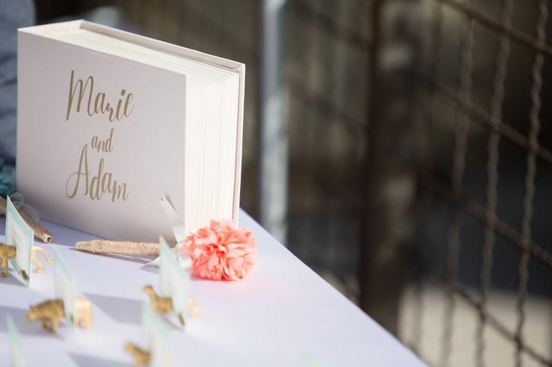seven degrees wedding laguna beach photographer nicole caldwell guest book ideas